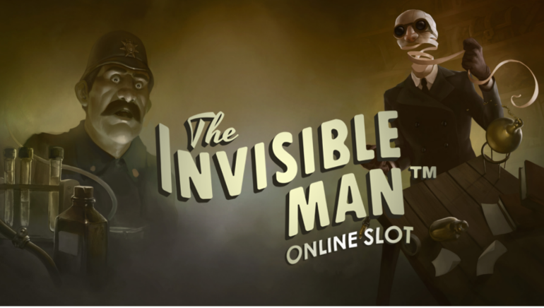 The Invisible Man and other slot games at Casumo
