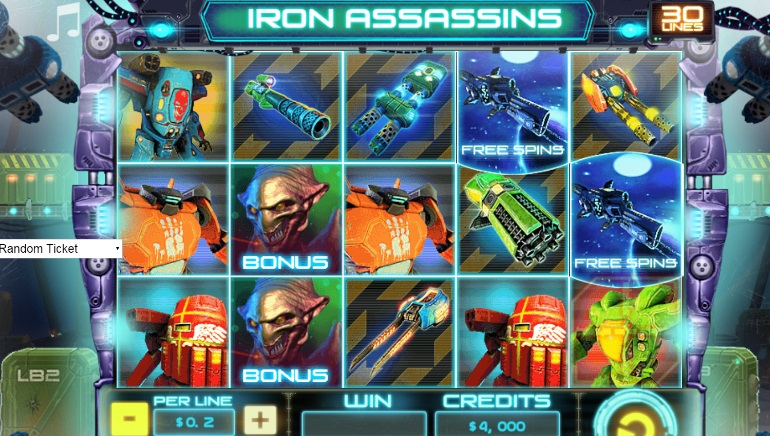 Iron Assassins Slot - Review & Play this Online Casino Game