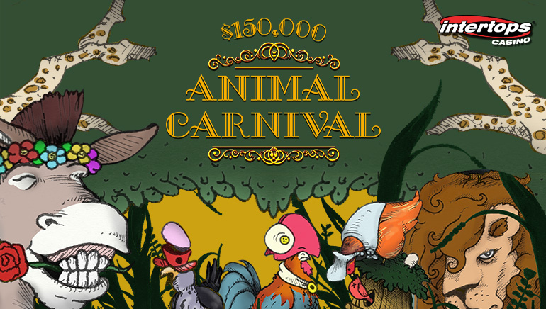 Join The Animal Carnival Promotion At Intertops Casino