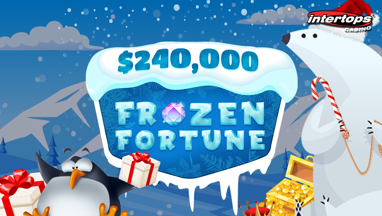 A Warm Welcome To Frozen Fortune Promo At Intertops Casino