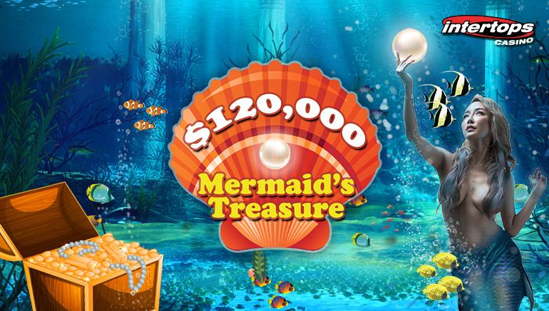 Dive Into The $120,000 Mermaid's Treasure Contest At Intertops Casino