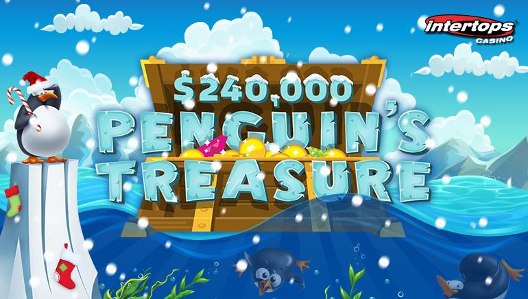 Compete for $240k Penguin's Treasure at Intertops Casino