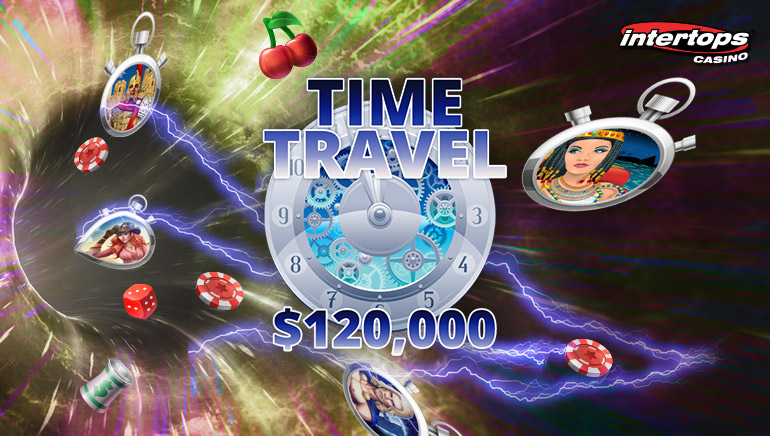 $120,000 Up For Grabs As Intertops Casino Launches Time Travel Casino Bonus