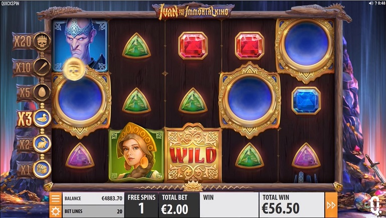 Quickspin Brings Ivan And The Immortal King Slot To Casinos