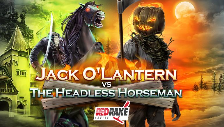 Red Rake's Horror Themed Jack O' Lantern Slot Released