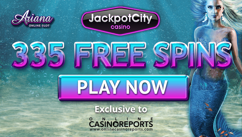 Claim 335 Exclusive Free Spins at Jackpot City Casino