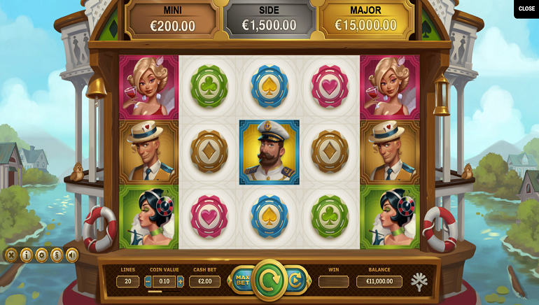 Yggdrasil's Jackpot Express Slot Inspired by Riverboat Casinos