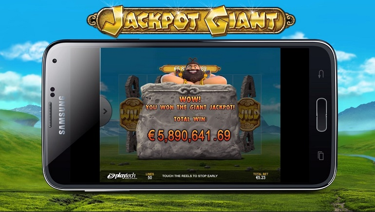 Jackpot Giant Sets UK Mobile Record with €5.89m Win
