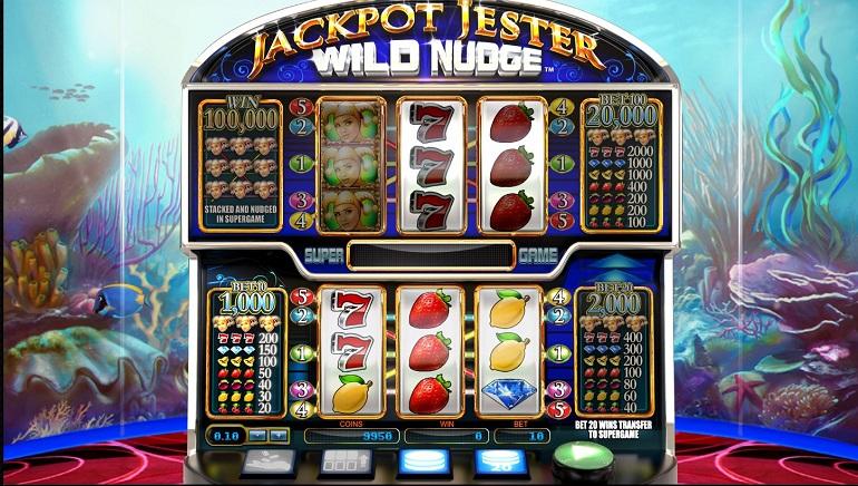Jackpot Jester Wild Nudge - NYX Gaming - Rizk Online Casino Sverige