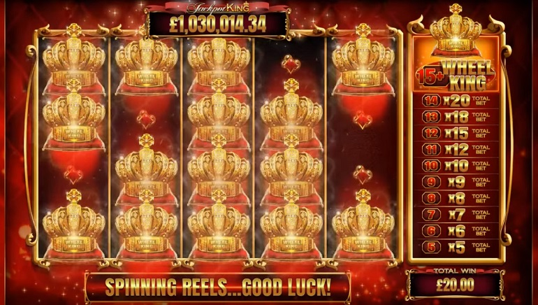 Jackpot King Deluxe Slot Released at Blueprint Gaming Casinos