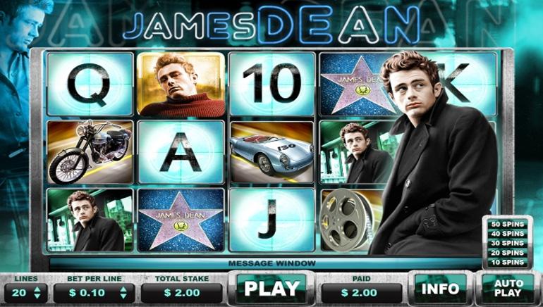 NextGen Launches New James Dean Slot Machine