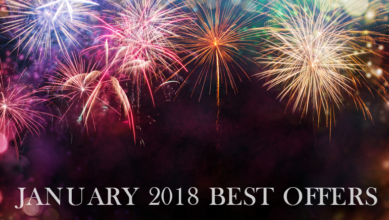 The Best Online Casino Offers for January 2018