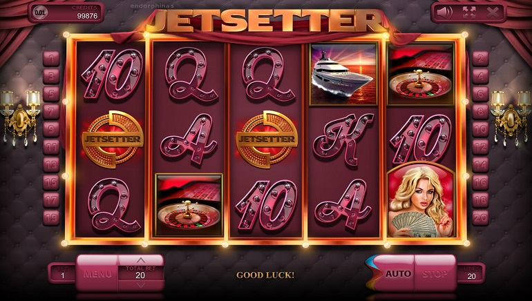 BitCasino Player Scores Huge 130 BTC Win on Endorphina's Jetsetter Slot