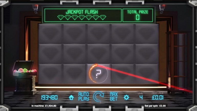 Take on Jewel Heist Slot from Magnet Gaming