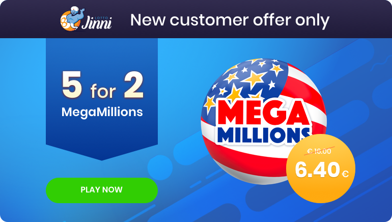 New Jinni Lotto Players Get Five Mega Millions Tickets for Two