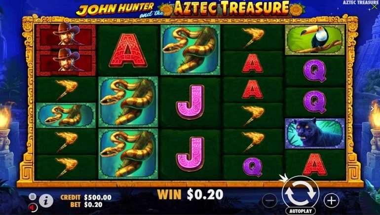 Join A South American Adventure in Pragmatic Play's John Hunter And The Aztec Treasure Slot