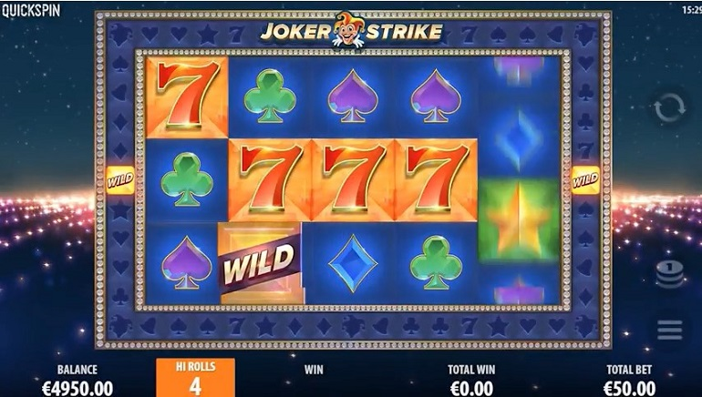 Strike New Highs With Quickspins' Joker Strike Slot