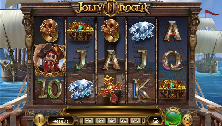 Set Sail For The Jolly Roger 2 Slot From Play'n GO