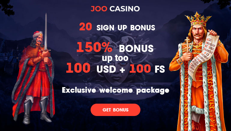 Start 2020 With a Bang With Joo Casino 150% Up to $100 & 100 Free Spins