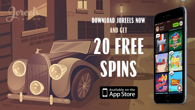 Join the Races at JoReels Casino With 20 No Deposit Free Spins to Boot!