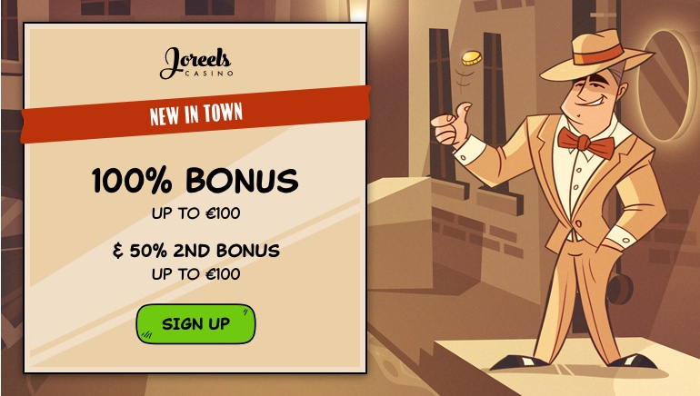 Claim Your Turf With €200 Welcome Bonus at Joreels Casino