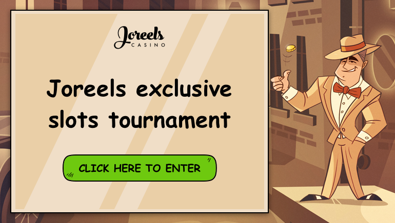 Win Sweet Prizes at Our Exclusive Joreels Casino Tournament
