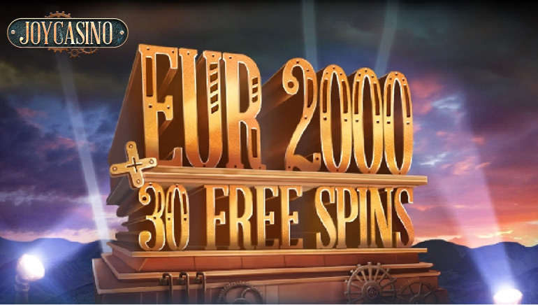Joy Casino Fills up the Joy Meter with Huge Welcome Bonus