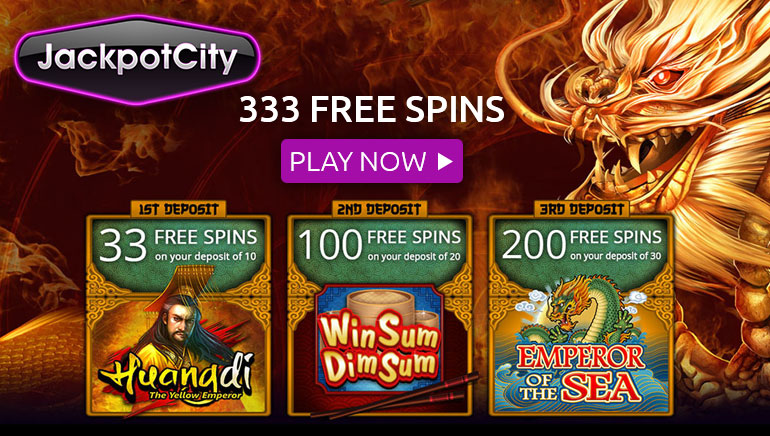 333 Free Spins Up for Grabs at Jackpot City Casino