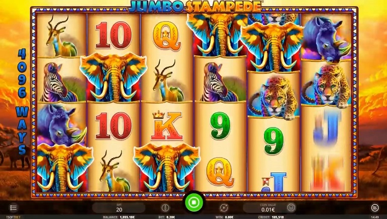 iSoftBet Unleashes A Jumbo Stampede With Their Latest Slot