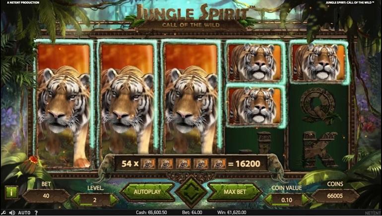 Go Wild! NetEnt's Jungle Spirit: Call of the Wild Slot Hits Online Casinos