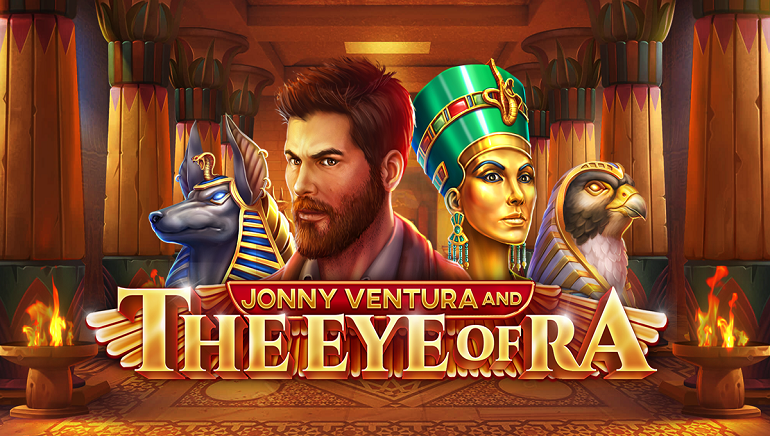 Join A Quest For Treasures With The New Jonny Ventura And the Eye Of Ra Slot From Pariplay