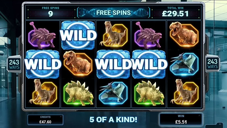 Slot Review: Microgaming's Jurassic World