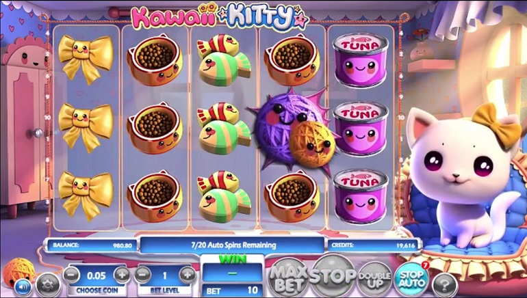 New Betsoft Slot, Kawaii Kitty, Releases This Month