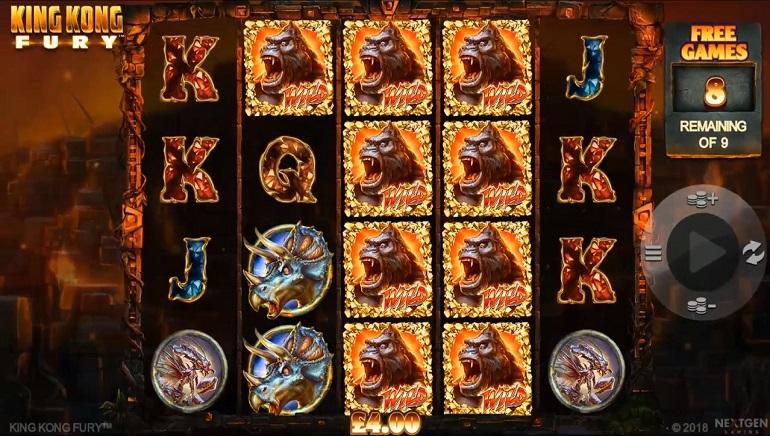 NextGen Launches New King Kong Fury Slot