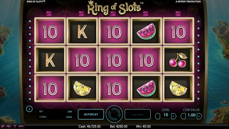 Coming Soon: NetEnt's King of Slots