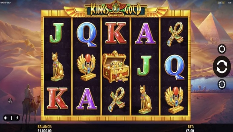 iSoftBet's New Kings of Gold Slot Dazzles Players