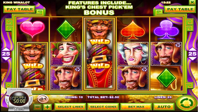 A King's Ransom Awaits with King Winalot Slot from Rival