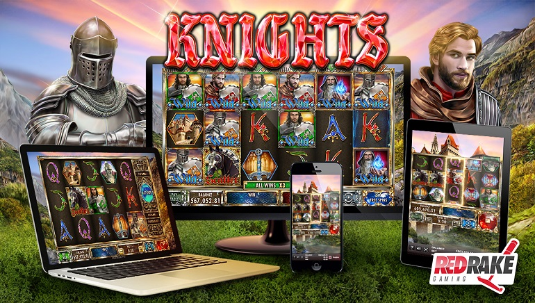 Find The Holy Grail With The Knights Slot From Red Rake Gaming