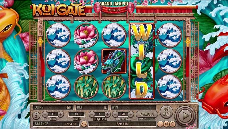 Habanero Releases New Koi Gate Slot