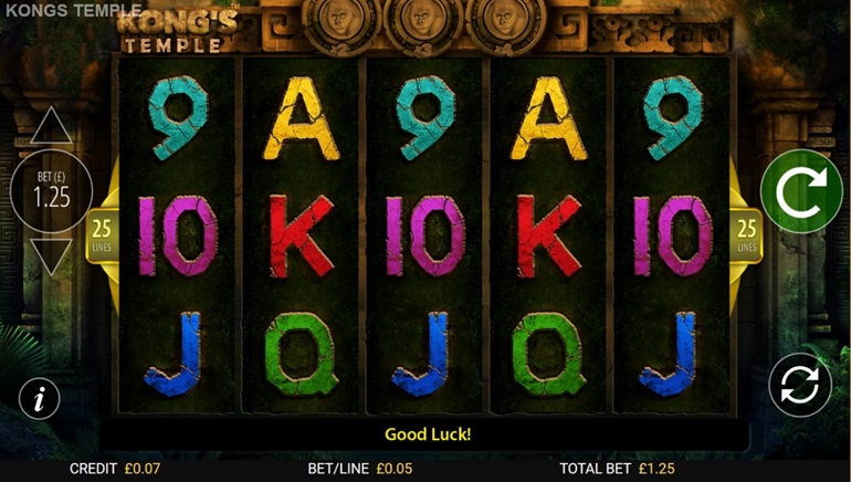 Slot Review: Kong's Temple by Blueprint Gaming