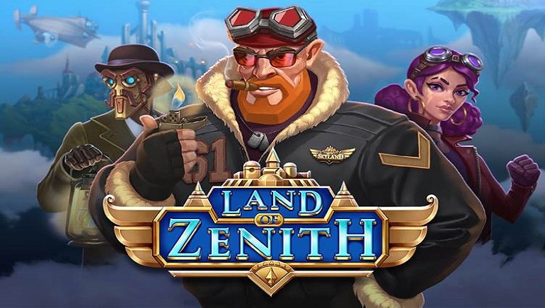Explore A Steampunk World With New Land Of Zenith Slot From Push Gaming