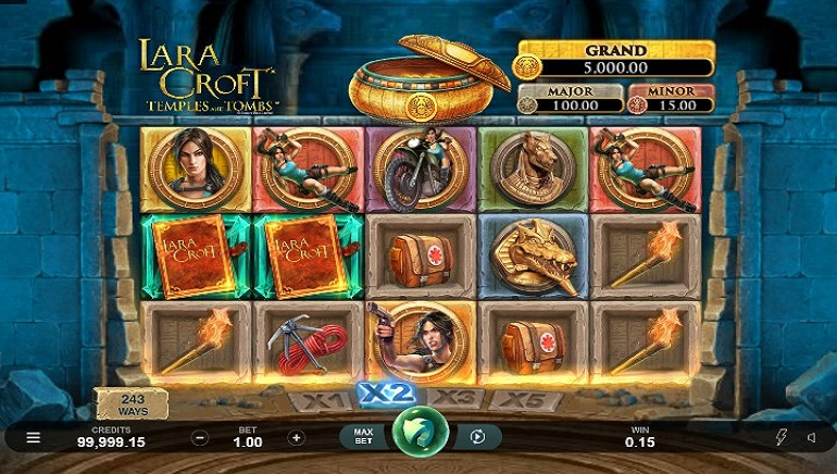 Lara Croft: Temples and Tombs Slot Out Now at Microgaming Casinos