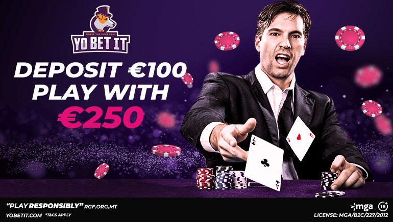 YobetIt Casino Awarding 150% Welcome Bonus Up to €150