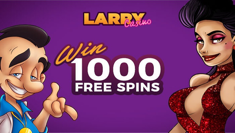 Win Your Share of 1,000 Free Spins with Our Exclusive Larry Casino Raffle