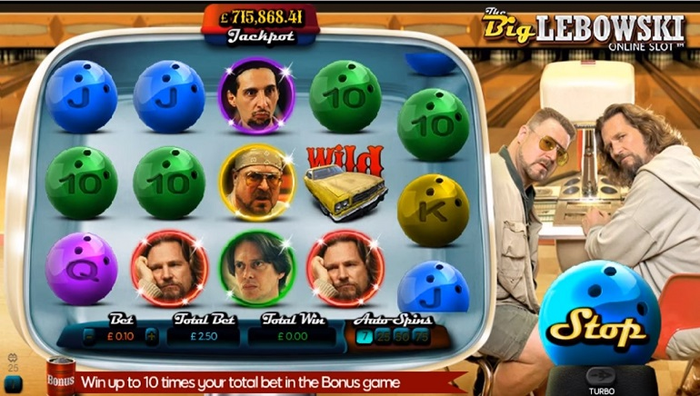 Dude, The Big Lebowski is Now a Video Slot