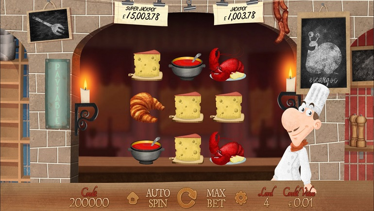 Magnet Gaming Serves Up New Le Chef Slot