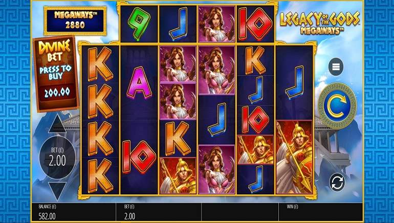 ­­Blueprint Gaming Scores a Winner with Legacy of the Gods Megaways™ Slot
