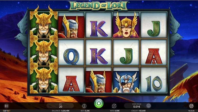 Norse Gods Star In The Legends Of Loki Slot From iSoftBet