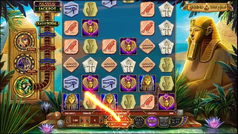 Experience Different Egyptian Adventure with Betsoft's New Legend Of The Nile Slot