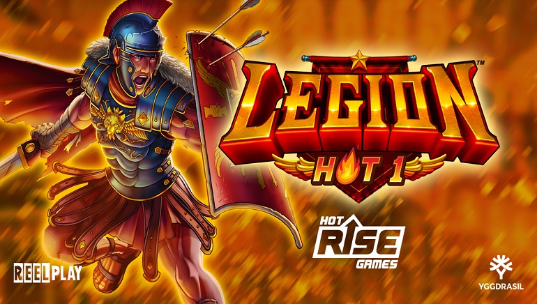 The Armies Of Rome March Into Casinos With New Legion - Hot 1 Slot From Yggdrasil
